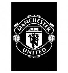 Manchester United FC Poster - Team Crest