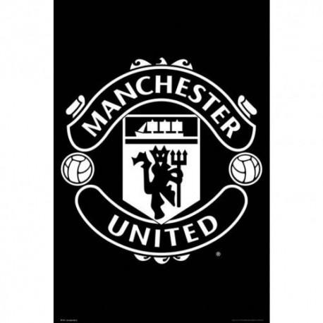 Manchester United FC Folded Poster - Team Crest
