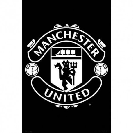 Manchester United FC Folded Poster - Team Crest