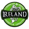 Ireland Harp Round Patch