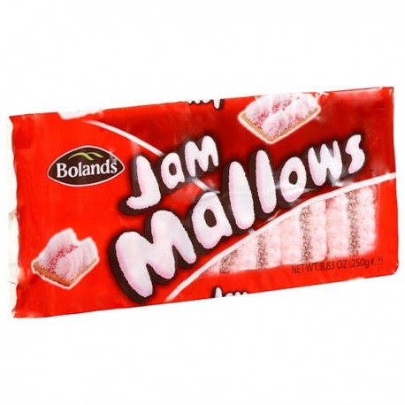 Bolands Jam Mallows - 250g