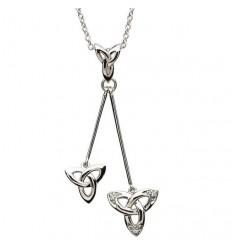 ShanOre Trinity Knot Dangle Pendant