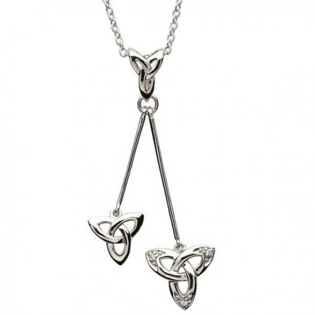 ShanOre Trinity Knot Dangle Pendant