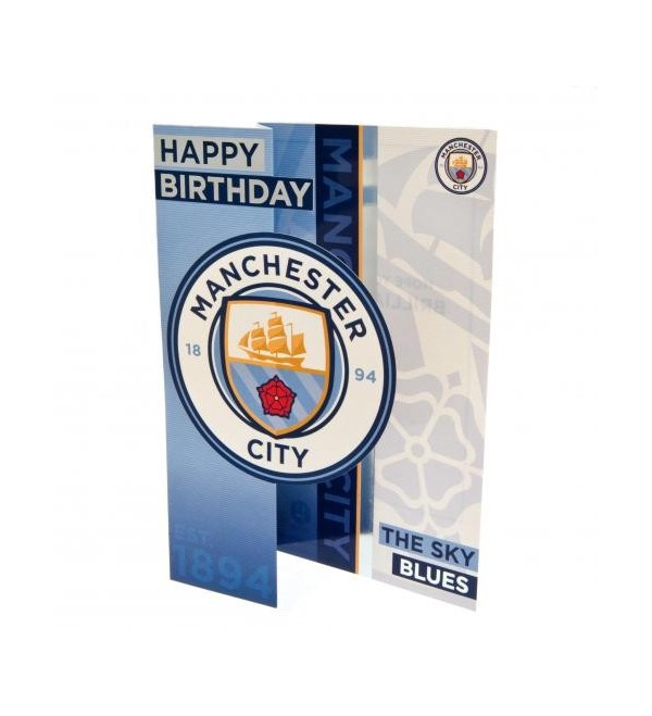 Manchester City Fc Birthday Card A Bit Of Home Canada
