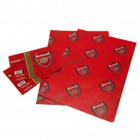 Arsenal FC Gift Wrap