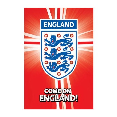 Come on England! Poster
