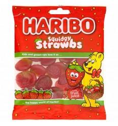 Haribo Squidgy Strawbs - 160g
