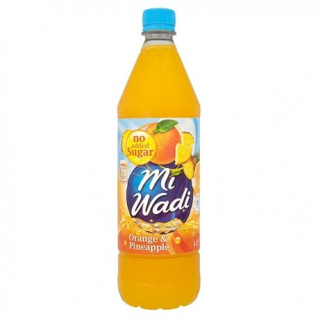 Miwadi NAS Orange & Pineapple - 1L