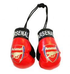 Arsenal FC Boxing Gloves Dangle