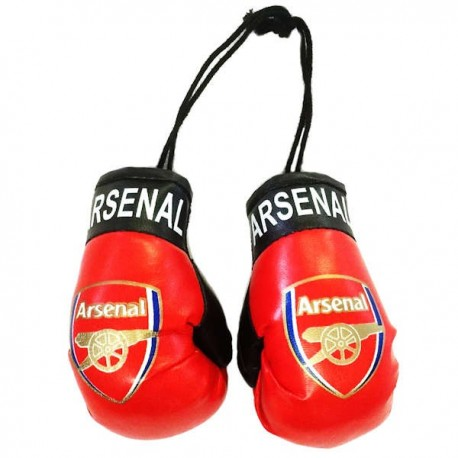 Arsenal FC Boxing Gloves Dangle
