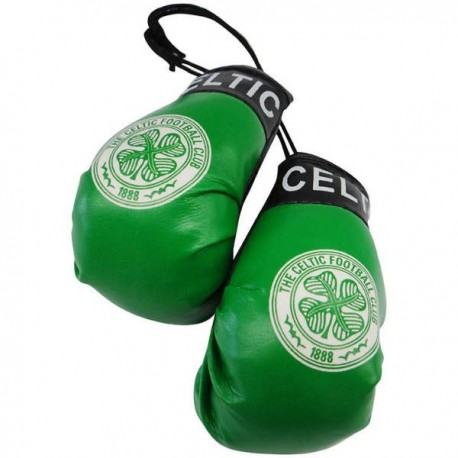 Glasgow Celtic FC Boxing Gloves Dangle