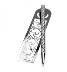 Sea Gems Celtic Manx Pen & Bookmark Gift Set