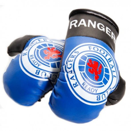 Glasgow Rangers FC Boxing Gloves Dangle