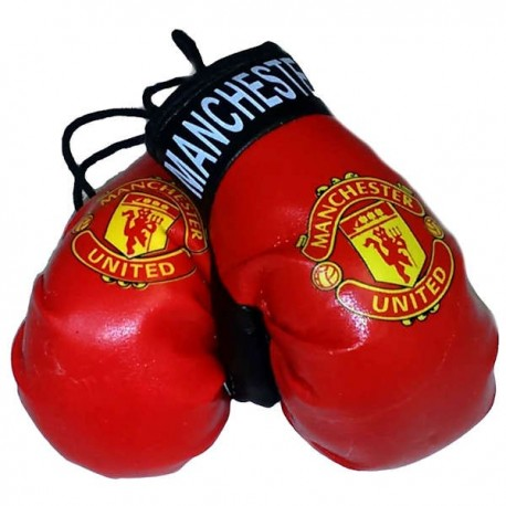 Manchester United FC Boxing Gloves Dangle