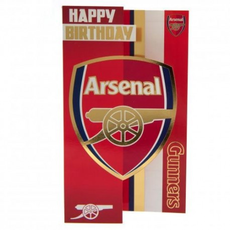 Arsenal FC Birthday Card