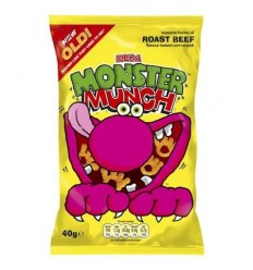 Walkers Roast Beef Monster Munch - 40g