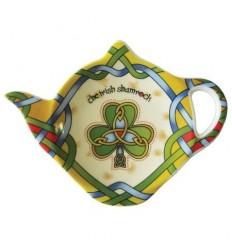 Irish Weave Shamrock Tea Bag Holder