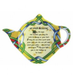 Irish Weave Blessing Tea Bag Holder