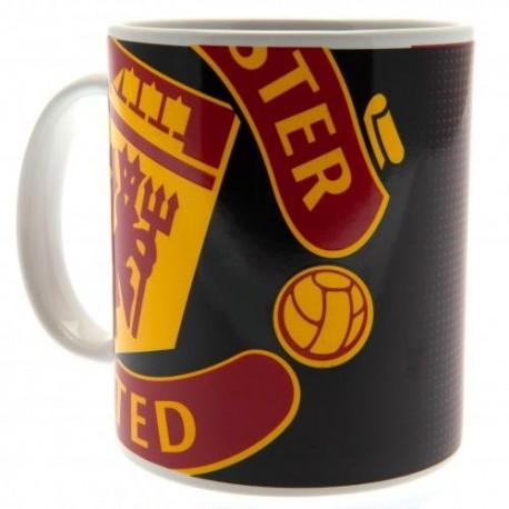 Manchester United FC Crest Mug
