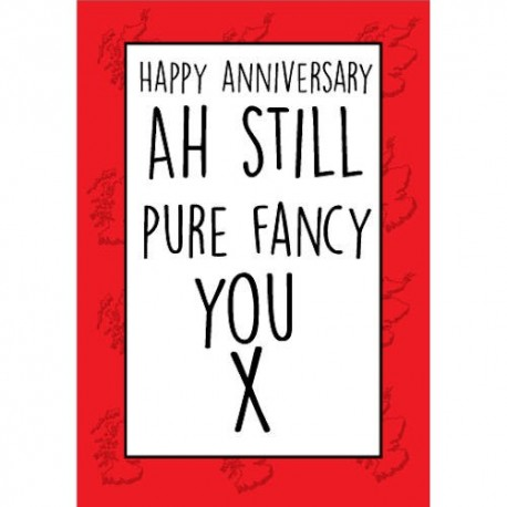 Scottish Fancy Anniversary Card