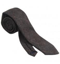 Heritage Traditions Grey Check Tweed Necktie