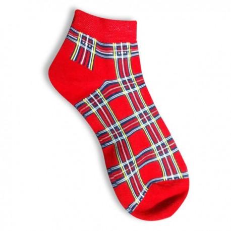 Royal Stewart Ladies Trainer Socks