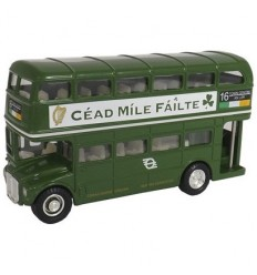 Diecast Irish Double Decker Bus