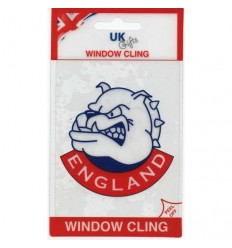 England Bulldog Window Cling