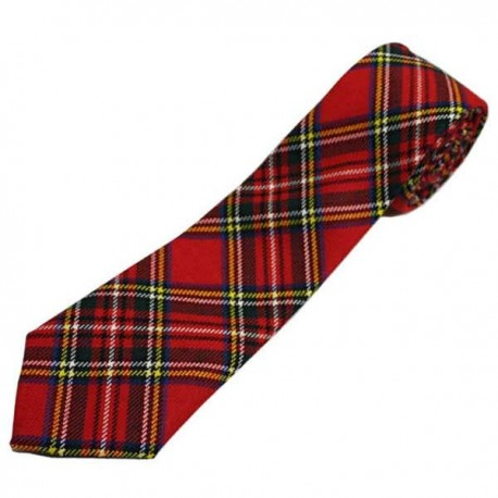 Tartan Traditions Royal Stewart Necktie