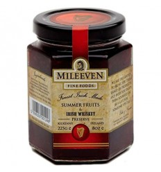 Mileeven Irish Whiskey & Summer Fruits Preserve - 225g