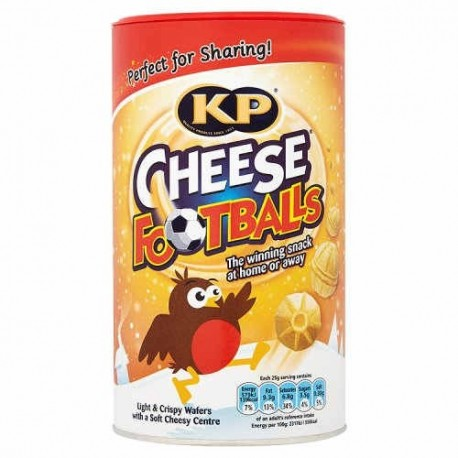 KP Cheese Footballs Caddy