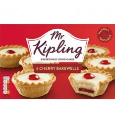 Mr Kipling Cherry Bakewells (Frozen) - 280g