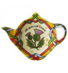 Scottish Weave Thistle Tea Bag Holder