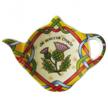 Scottish Weave Thistle Tea Bag Holder