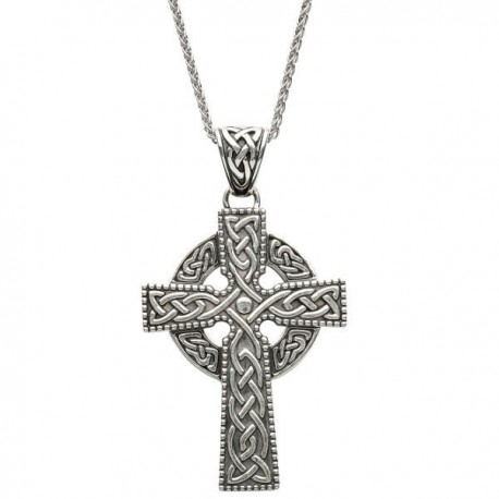 ShanOre Large Celtic Knot Cross Pendant