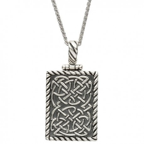 ShanOre Celtic Knot Dog Tag Pendant
