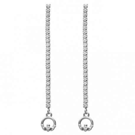 ShanOre Claddagh Dangle Drop Earrings