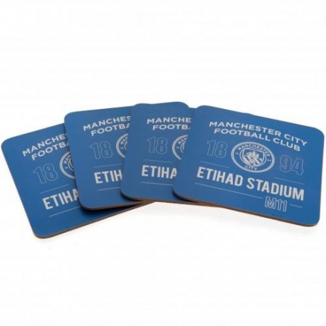 Manager City FC Coaster Set