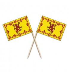 Scotland Lion Flag Toothpicks