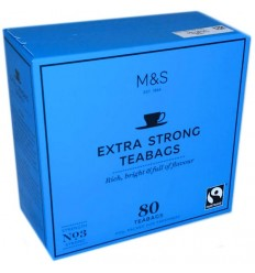 Marks & Spencer Extra Strong Tea Bags - 80