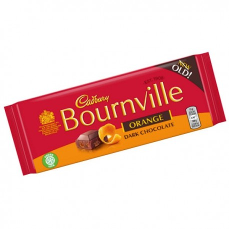 Cadbury Bournville Orange - 100g