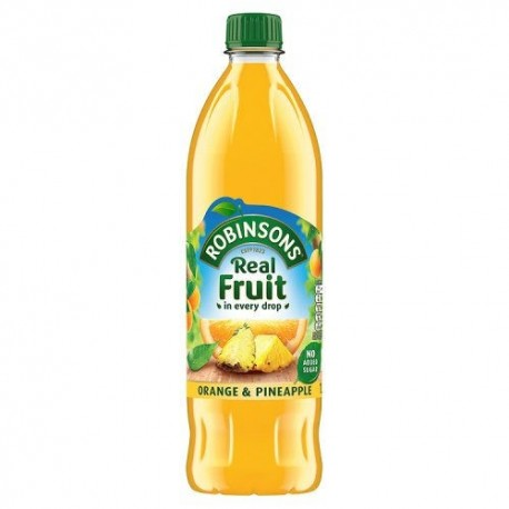 Robinsons NAS Orange & Pineapple Squash - 900mL
