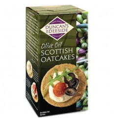 Duncans of Deeside Olive Oil Oatcakes - 200g
