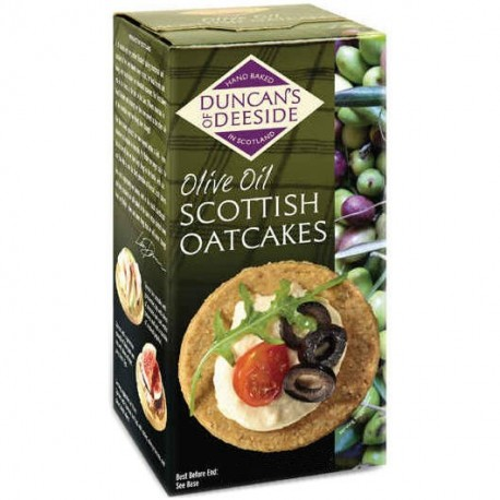 Duncan's of Deeside Olive Oil Oatcakes - 200g