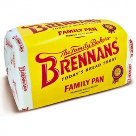 Brennans White Sliced Family Pan (No Ship)