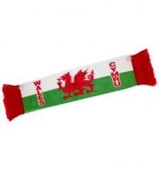 Wales Flag Mini Scarf