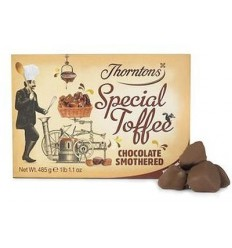 Thorntons Chocolate Smothered Special Toffee - 485g