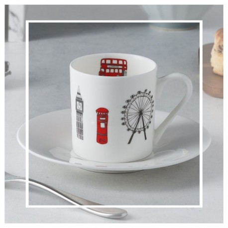 London Skyline Espresso Set