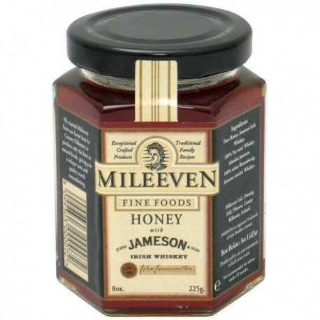 Mileeven Irish Honey with Jameson Whiskey - 225g