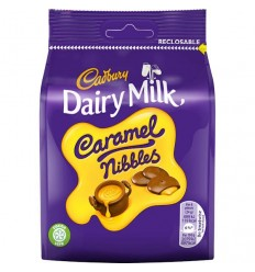 Cadbury Caramel Nibbles Treat Pouch - 95g
